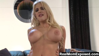 RealMom Busty Milf Carmel Moore Knows How To Fuck