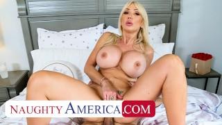 Naughty America Sexy MILF Victoria Lobov loves  cock
