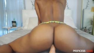 College Babe Dirty Talking JOI Seduces You With a Blowjob and Makes You Cum In Her Pussy