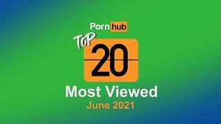 Most Viewed Videos of June 2021 Pornhub Model Program