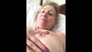 75 year old Wife Masturbates