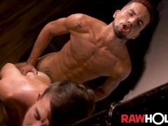 RAWHOLE Gay Latins Lucas Franfreich And Pytter Fox Raw Fuck