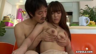 Japanese girl Minto Asakura is enjoying uncensored