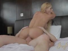 JoyBear - Shy Guy Spanks Busty Blonde Babe