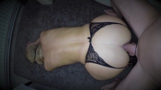 I got so horny fucking her ass that I sprayed a huge big cum load over her face She swallowed it all