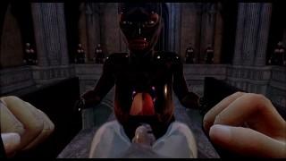 citor3 femdomination 2 3d vr เกม walkthrough 5 พิธีคอ blowjob femdom, latex, big tits