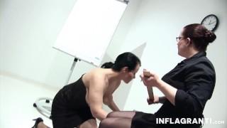 Trashy slave gets slit fisted