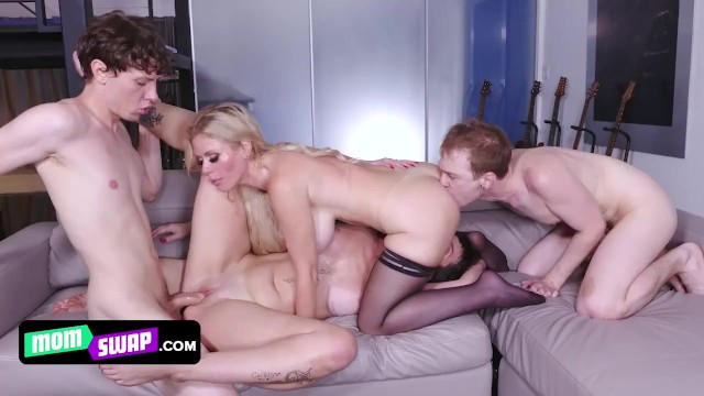Supreme Milfs Give Their Filthy Stepsons A Makeover And Teach Them How To Satisfy The Girls