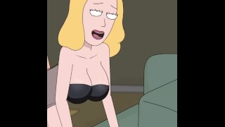 Rick And Morty - A Way Back Home - Sex Scene Only - Part 36 Beth Sex POV By LoveSkySanX
