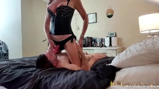REAL COUPLE SENSUAL Foreplay Passionate Real Sex PEGGING CUNNILINGUS BLOWJOB Real Orgasm