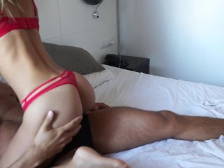 """""""Now please fuck my throat daddy! """" FIT COUPLE having a DIRTY MORNING FUCK"""
