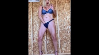 """Horny MILF makes Home Depot """"SheShed"""" her Bitch!!!"""