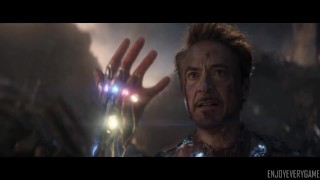 """""""I am Iron Man!"""" - First and last scenes"""
