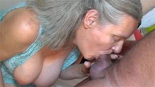 72 years old granny fucked by old man