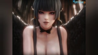 Dead or Alive nyotengu hentai collection Part 1 [Rule34]