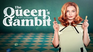 Beth Harmon of QUEEN'S GAMBIT 和你玩他妈的国际象棋 VR 色情