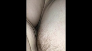 Deep creampie for best friend's fat PAWG Hotwife with MOANS