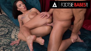 FootsieBabes Pounding Mary Frost's Pussy After A Sexy ReverseFootjob