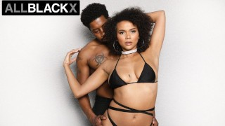AllBlackX Natural Beauty Alina Ali Dicked Down By Huge Cock