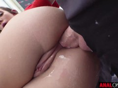 ANAL ONLY Bailey Base's butthole workout
