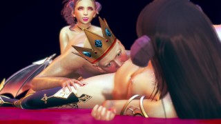 casstle robbed by succubus - 3d animation