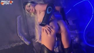 Horny Nova from Starcraft Sucks Cock and Swallows Cum