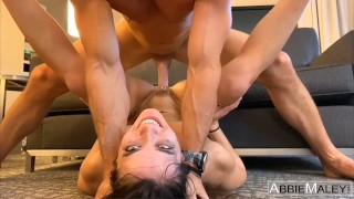 Brunette Fitness Girl Fucked To Multiple Orgasms By Johnny Sins Abbie Maley