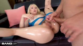 BANG Surprise Sexy Blonde Lilly Bell Got Her Hairry Pussy Stuffed By A Thick Cock