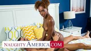 Naughty America Lacey London Fucks her friend's dad in the shower!