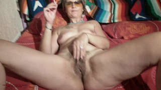 Hungry french milf cougar reveals herself to the world