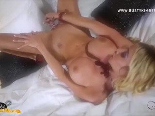 Busty Kimber XXX James Rams Glass Toy Up Her Hot Post Op Pussy