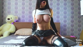 Tifa Lockhart Plays With Toys and Cums For You - FFVII DIY Solo Amateur