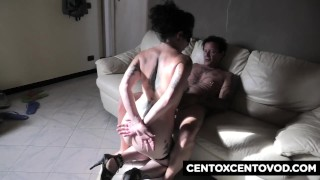 Ligurian camgirl Sally Selvaggia fucked by Alex Magni