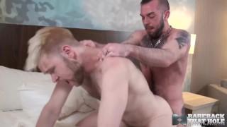 映画セックス - Bareback That Hole BAREBACKTHATHOLE Gays Jeremy Feist And Will Price Raw Fuck