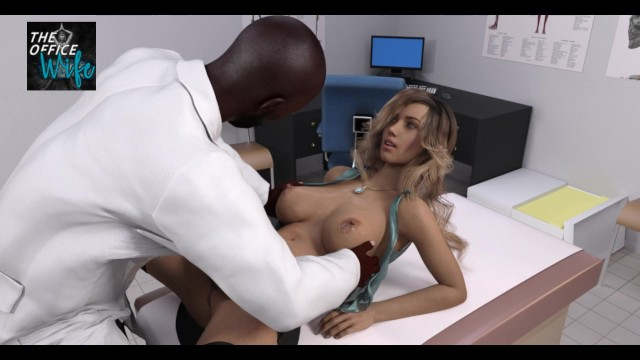 The Office Wife Game - Stacy cums at the gyno doctor