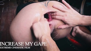 EXTREME GAPE FOR MY ASS