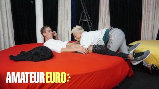 AMATEUREURO - German Mature Likes To Suck Cock And Gets Fucked Hard