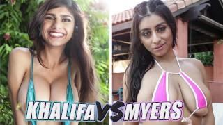 BANGBROS Battle Of The GOATs Mia Khalifa vs Violet Myers