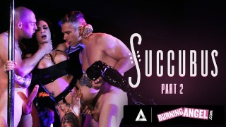 Busty Stripper Joanna Angel Gets Roughly DoubleFucked By Horny Customers