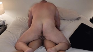 Bbw wife loves getting anal 😍