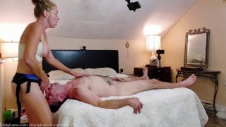 Intimate DOMINATE SUBMISSIVE Sensual Pegging LIFT & CARRY Strapon ASS FUCK - PASSIONATE Foreplay
