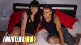 AMATEUREURO - Big Ass German Mature Hardcore POV Sex With Her Man