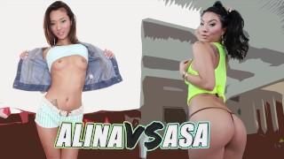 BANGBROS - Battle Of The Asian GOATs: Alina Li VS Asa Akira
