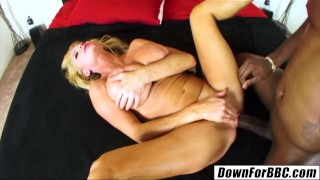 DOWN FOR BBC - Taylor Wane big black cock makes stepmommy purr