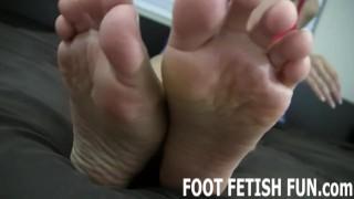Femdom Foot Fetish And POV Feet Massaging Videos