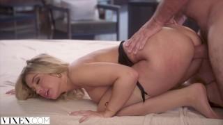 VIXEN Seductive Allie has passionate affair with her boss