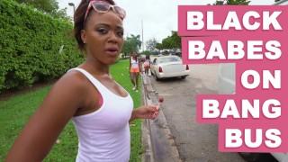 BANGBROS Black Babes On The Bang Bus Featuring Anya Ivy Amilian Kush Milu Blaze & More