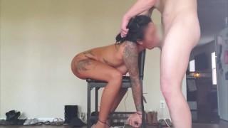 แฟนผู้หญิงเข้าร่วมเก้าอี้ bondage doggystyle เต็ม vid บน onlyfans