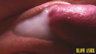 SOO WET PUSSY Extreme Close Up Creampie FUCK CumShot Cum in Pussy Juice | BLOW ASMR