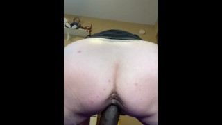 Fucking this new black cock